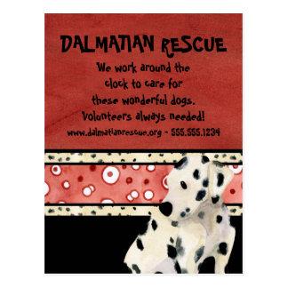 """Puppy Love,"" Dalmatian Puppy Dog Business Designs Postcard"