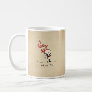Puppy love - dog lover coffee mug
