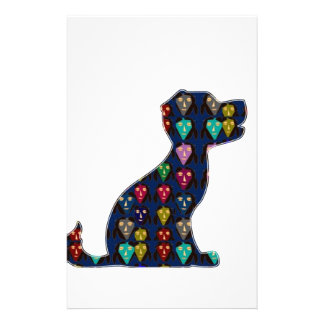 PUPPY LOVE dog pet animal NVN96 NavinJOSHI FUN Stationery Design