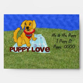 Puppy Love Envelope