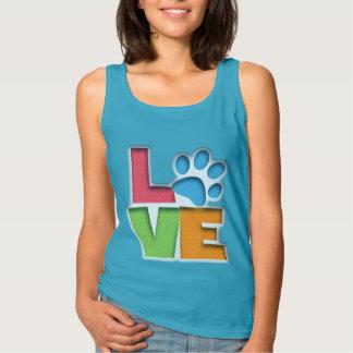 Puppy Love II Basic Tank Top