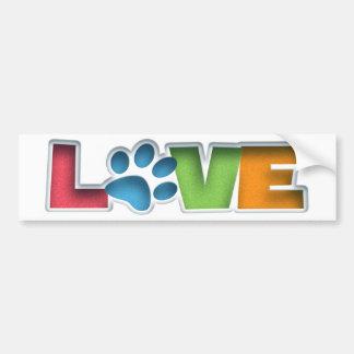 Puppy Love II Bumper Sticker