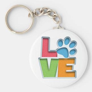 Puppy Love II Keychain