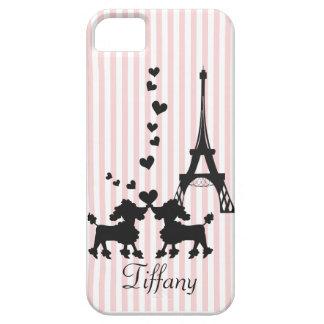 Puppy Love in Paris iPhone SE/5/5s Case