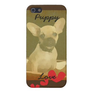 Puppy Love iPhone5/5s Matte Case iPhone 5/5S Covers