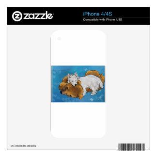 Puppy Love iPhone 4 Decals