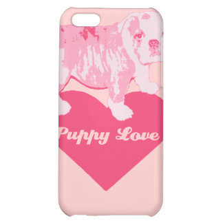 puppy love iPhone 5C cover