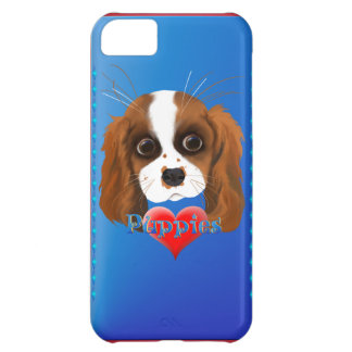 Puppy Love iPhone 5C Covers