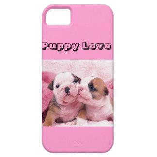 """""""Puppy Love"""" iPhone SE/5/5s Case"""