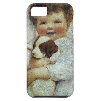 PUPPY LOVE.jpg iPhone SE/5/5s Case