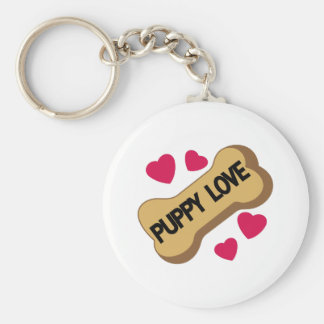 Puppy Love Keychain