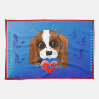 Puppy Love Kitchen Towel