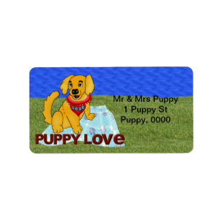 Puppy Love Label