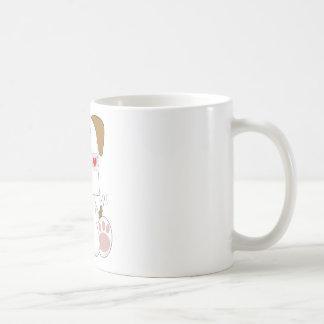 Puppy Love Love Letter Coffee Mug