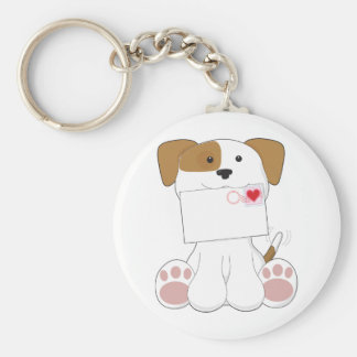 Puppy Love Love Letter Keychains