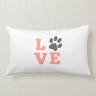Puppy Love Lumbar Pillow