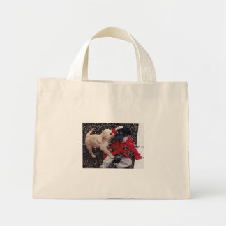Puppy Love Mini Tote Bag