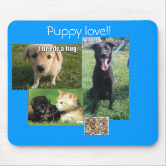 Puppy Love Mouse Pad