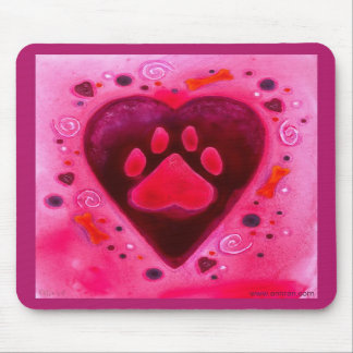 """Puppy Love"" Mousepad"
