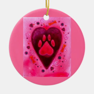 """Puppy Love"" Ornament"