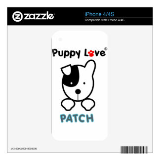 Puppy Love - PATCH Decal For iPhone 4