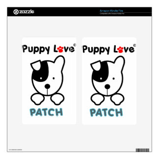 Puppy Love - PATCH Decal For Kindle Fire