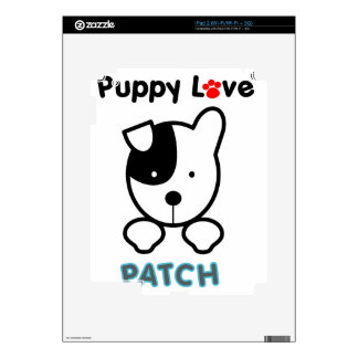 Puppy Love - PATCH iPad 2 Skins