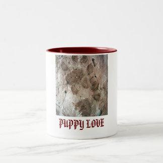 Puppy Love Paw Prints Mug