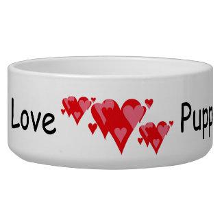 Puppy Love Pet Bowls