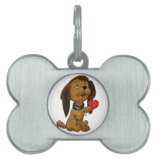 Puppy Love Pet ID Tag