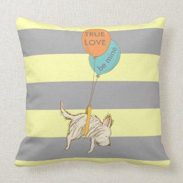 Beach Themed Puppy Love Pillow Talk