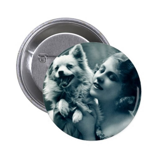 Puppy Love Pinback Buttons