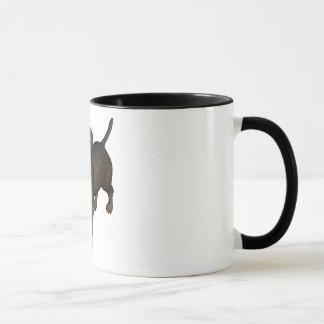 """Puppy Love"" Pit Bull Mug"