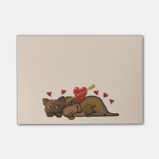 Puppy Love Post-it® Notes