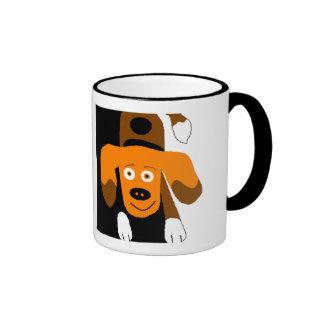 Puppy Love Ringer Mug
