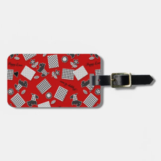 Puppy Love Scotty Terrier Red Tags For Luggage