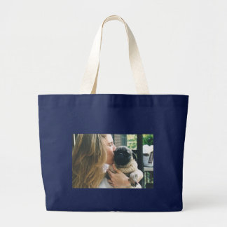 Puppy love-Shea had LIFE and LOVE for so many Large Tote Bag
