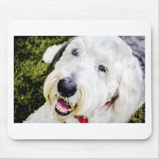 Puppy Love Sheep Dog Case Mouse Pad