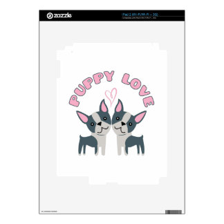 Puppy Love Skin For The iPad 2
