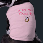 """Puppy Love T-shirt<br><div class=""""desc"""">Want your pet to be a part of that once in a lifetime occasion? Then this t-shirt says it all.</div>"""
