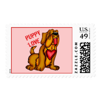Puppy Love T-shirts and Gifts Postage