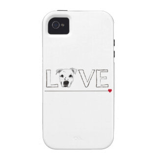 Puppy Love Text Art Case-Mate iPhone 4 Cases