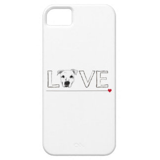 Puppy Love Text Art iPhone 5 Covers