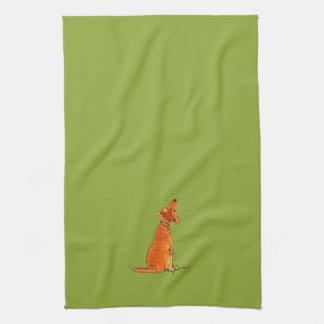 Puppy Love Towel ~ Kiwi