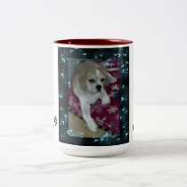 puppy Love Two-Tone Coffee Mug