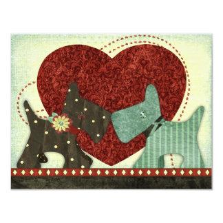 Puppy Love Valentine Invitations