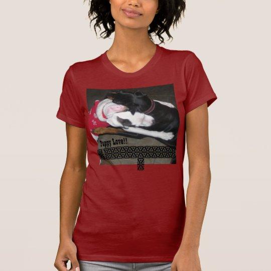 Puppy Love Womens T-Shirt