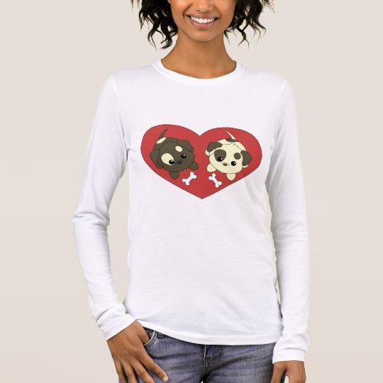 Puppy Loves Long Sleeve T-Shirt