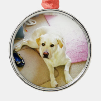 Puppy Metal Ornament
