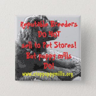 Puppy Mill Awareness Button